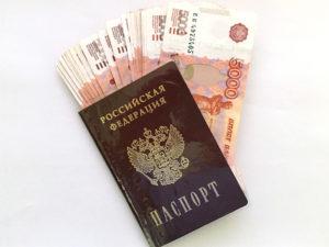 изображение займа по паспорту